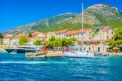 Cidade Bol na Croácia Fotografia de Stock Royalty Free