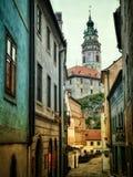 Cidade bonita imagens de stock royalty free