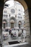 A cidade bonita da catedral de Genoa Fotografia de Stock
