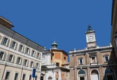 A cidade bonita de Ravenna Imagem de Stock Royalty Free