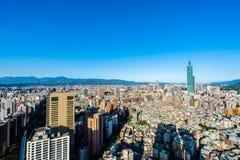 Cidade bonita de taipei da constru??o da arquitetura foto de stock royalty free