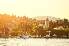 Cidade bonita de Zlarin Imagens de Stock Royalty Free