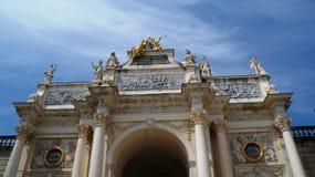 Cidade bonita em França, Nancy Fotos de Stock Royalty Free