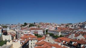 Cidade bonita Lisboa em Portugal Foto de Stock