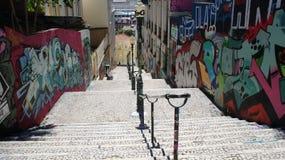 Cidade bonita Lisboa em Portugal Fotografia de Stock Royalty Free
