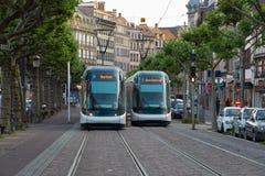 Cidade bonita Strasbourg em Alsácia em França Imagens de Stock Royalty Free