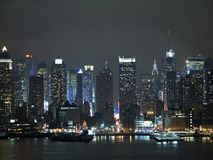 Cidade brilhante imagem de stock