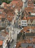 Cidade Bruges Fotografia de Stock Royalty Free