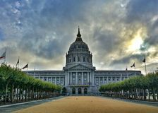 cidade cívica em San Francisco Fotografia de Stock