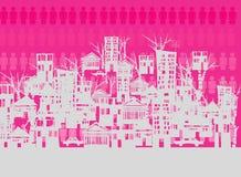 Cidade cantada Imagem de Stock