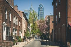 Cidade Center Philadelphfia fotografia de stock royalty free