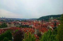 Cidade checa Praga imagens de stock royalty free