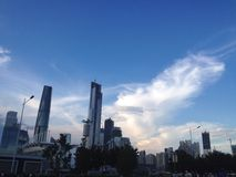 Cidade chinesa Fotografia de Stock Royalty Free