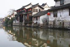 A cidade chinesa da água - Xitang 5 Imagens de Stock Royalty Free