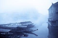 Cidade chinesa de phoenix imagem de stock