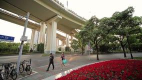 Cidade chinesa de Shanghai filme