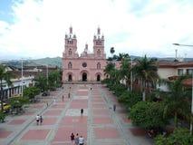 Cidade Colômbia valle de Buga do cauca imagens de stock royalty free