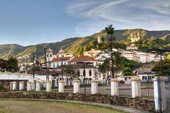 Cidade colonial Fotos de Stock Royalty Free