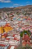 Cidade colorida de Guanajato Imagens de Stock Royalty Free