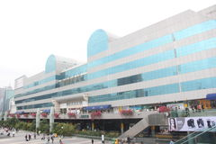Cidade comercial de Luohu no ¼ ŒAsia de Œchinaï do ¼ do shenzhenï Imagens de Stock Royalty Free