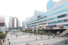 Cidade comercial de Luohu no ¼ ŒAsia de Œchinaï do ¼ do shenzhenï Imagem de Stock Royalty Free