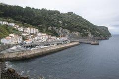 Cidade costeira Fotografia de Stock