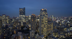 Cidade crepuscular 6 Imagem de Stock