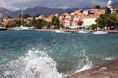 Cidade croata velha Cavtat Imagem de Stock Royalty Free