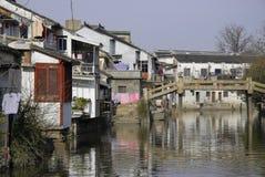Cidade da água Fotografia de Stock