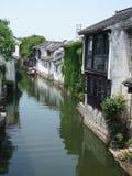 Cidade da água Fotografia de Stock Royalty Free