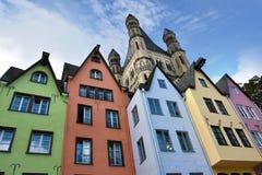 Cidade da água de Colônia, Köln fotos de stock royalty free