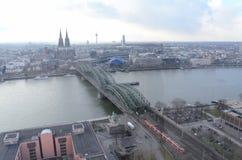 Cidade da água de Colônia Fotografia de Stock Royalty Free