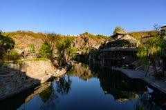 Cidade da água de Gubei, Miyun County, Pequim, China Imagens de Stock