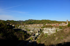 Cidade da água de Gubei, Miyun County, Pequim, China Imagens de Stock Royalty Free