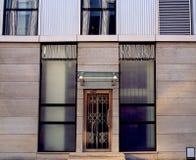 Cidade da arquitetura moderna Fotografia de Stock Royalty Free