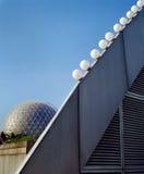 Cidade da arquitetura moderna Foto de Stock Royalty Free