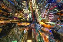 Cidade da arte Foto de Stock Royalty Free