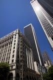 Cidade da baixa de edifícios de Los Angeles imagens de stock