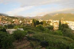 Cidade da barra, Montenegro Foto de Stock