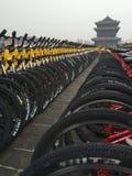 Cidade da bicicleta Foto de Stock