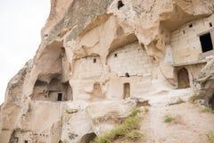 Cidade da caverna de Goreme fotos de stock royalty free