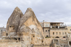 Cidade da caverna de Goreme Imagens de Stock