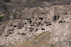 Cidade da caverna de Vardzia Imagem de Stock Royalty Free