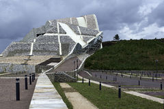 Cidade da cultura em Galiza Imagem de Stock Royalty Free