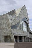 Cidade da cultura em Galiza Imagens de Stock Royalty Free