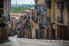 Cidade da Espanha de Zamora Imagem de Stock