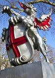 Cidade da estátua de Londres imagens de stock royalty free