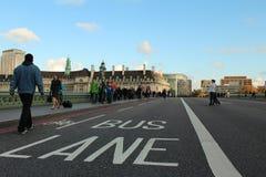 Cidade da estrada de Londres Fotografia de Stock Royalty Free