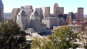 A cidade da grande opinião de Cincinnati na cidade da skyline de Cincinnati filme