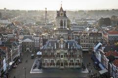 Cidade da louça de Delft imagem de stock royalty free